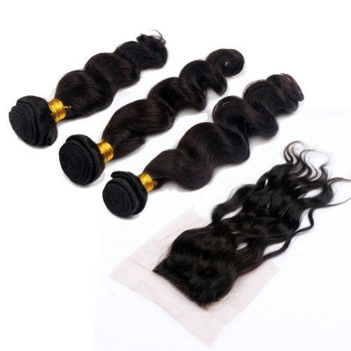 3 Bundles & Lace Closure Bundle Deal