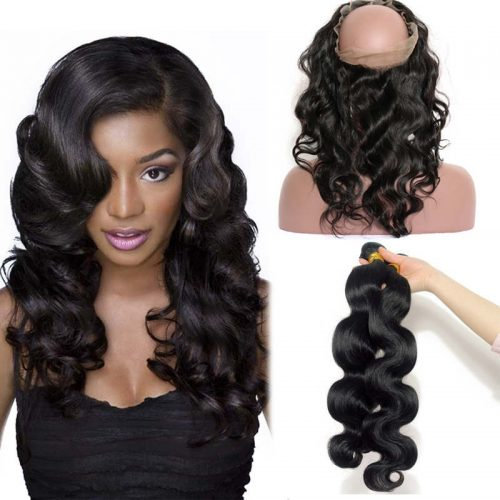 2 Bundles & 360 Frontal Deal