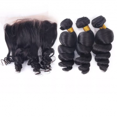 3 Bundles & Lace Frontal Deal